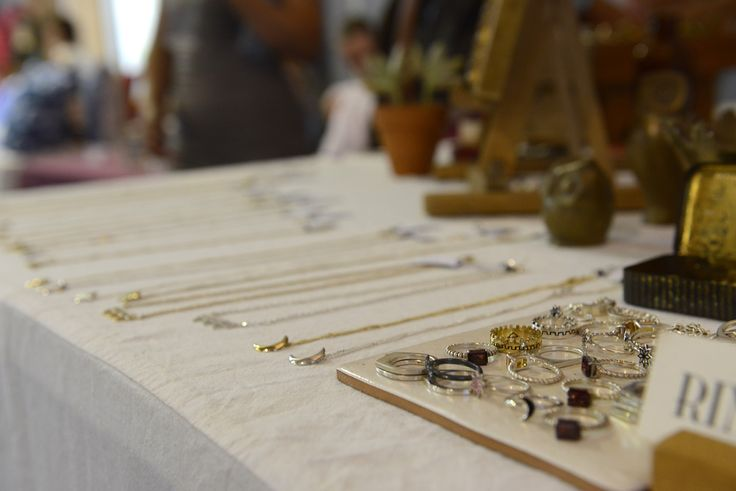 The Jewels by Jacqueline stall at the G2W Festival Jan 2015
