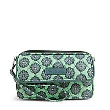 All in One Crossbody and Wristlet for iPhone 6+ in Nomadic Floral | Vera Bradley