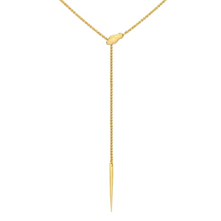 TEMPLE OF THE SUN JEWELLERY BYRON BAY - Tanis Necklace Gold, $169.00 (http://www.templeofthesun.com.au/tanis-necklace-gold/)