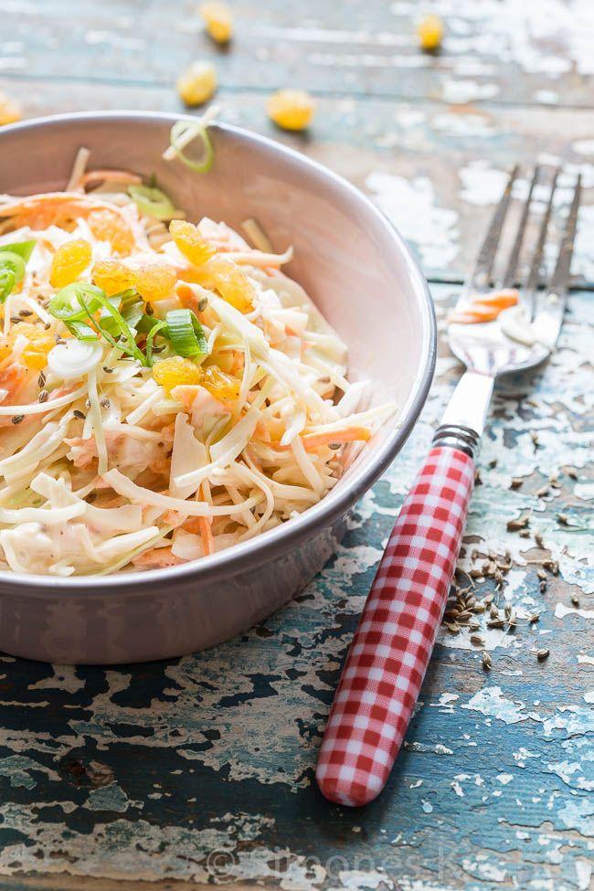 Zelf koolsla (coleslaw) maken - simoneskitchen.nl