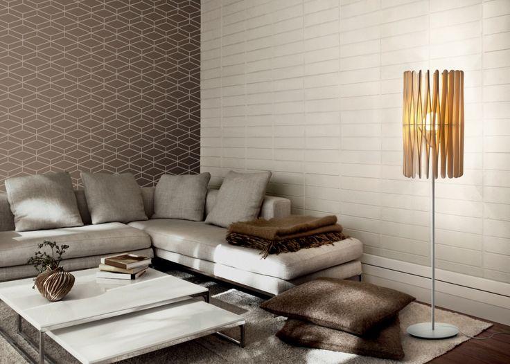 Stick Floor Lamp  - напольный дизайнерский светильник. Лампа. Торшер. Деревянный светильник. Светильник для гостиной.