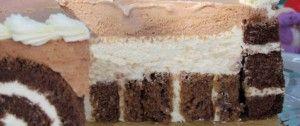 Exkluzivní čokoládový dort