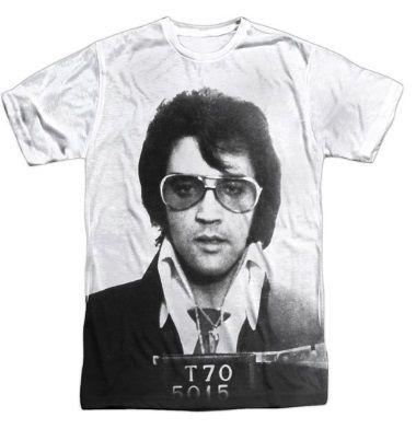 6- elvis presley tshirt
