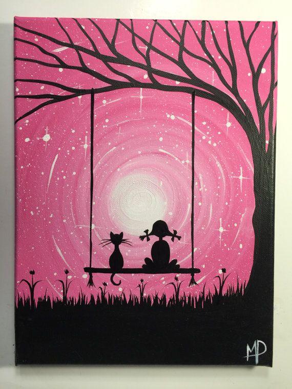 I wish I may  9 x 12 acrylic on canvas panel by MichaelHProsper
