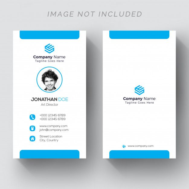 Back And Front Vertical Business Card Vertical Business Cards Corporate Business Card Design Printing Business Cards