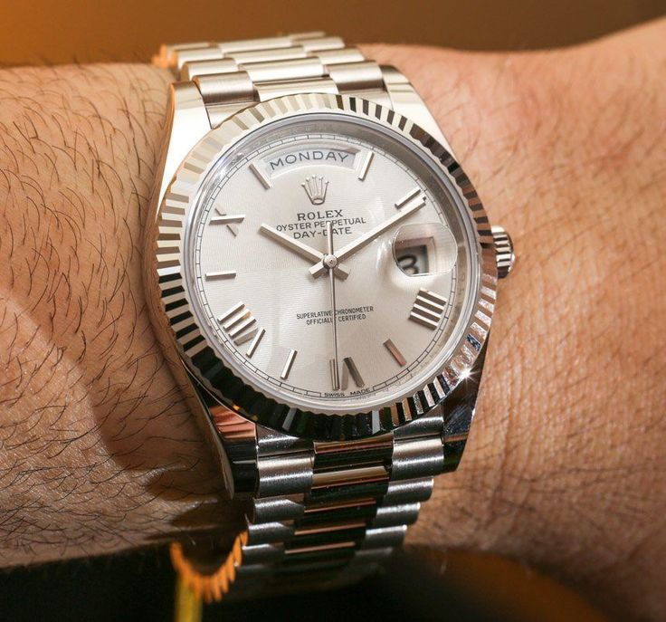 Rolex Day-Date 40 Watches and The New Rolex 3255 Movement Hands-On