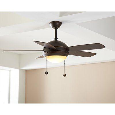 Mercury Row 44 Beltran 5 Blade Ceiling Fan Light Kit Included
