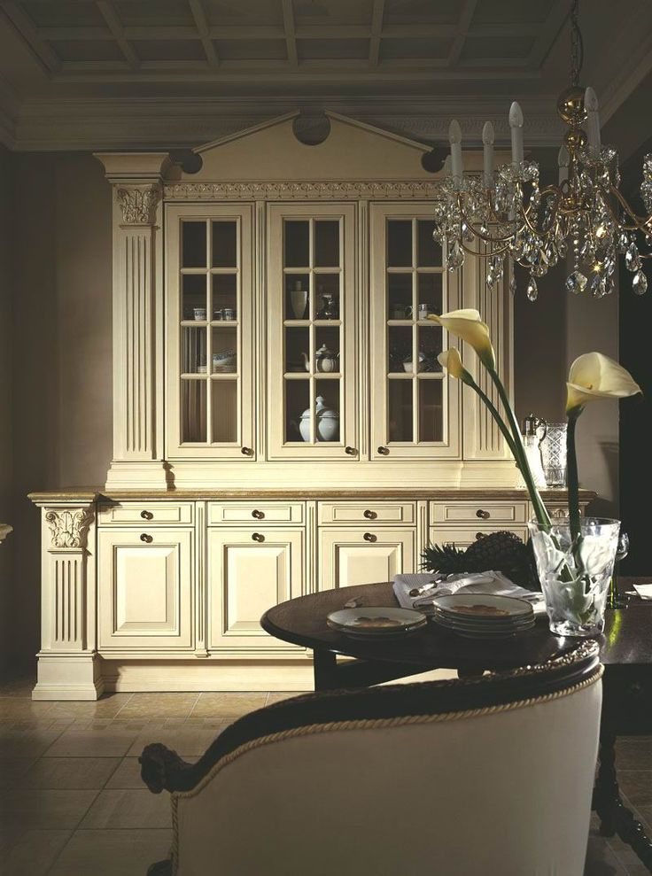 491 best images about kitchens french country for Beautiful built in kitchens
