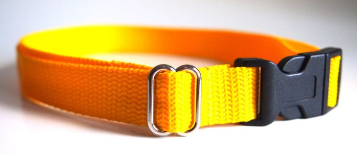 Gürtel - Gürtel Kindergürtel 2cm breit Hosengürtel gelb - ein Designerstück von Klitzefant bei DaWanda