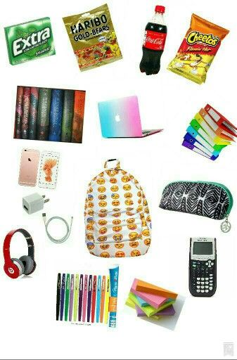Whats in my backpack!