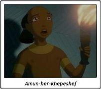 Amun-her-khepeshef / Hijo de Ramsés II / Rameses' son / El Príncipe de Egipto / The Prince of Egypt / 1998 / Dreamworks