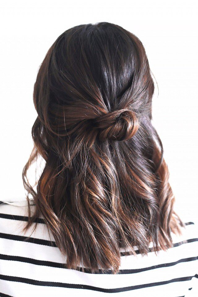 Honey and chocolate hued hair