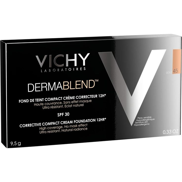 VICHY DERMABLEND Kompakt-Creme 45:   Packungsinhalt: 10 ml Creme PZN: 10084038 Hersteller: L Oreal Deutschland GmbH Preis: 14,57 EUR…