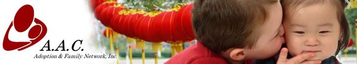 AAC China and Korea International Adoption Agency- Requirements/adoption program