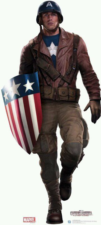 (Captain America) EvansChris Jacket - Visit to grab an amazing super hero shirt now on sale!