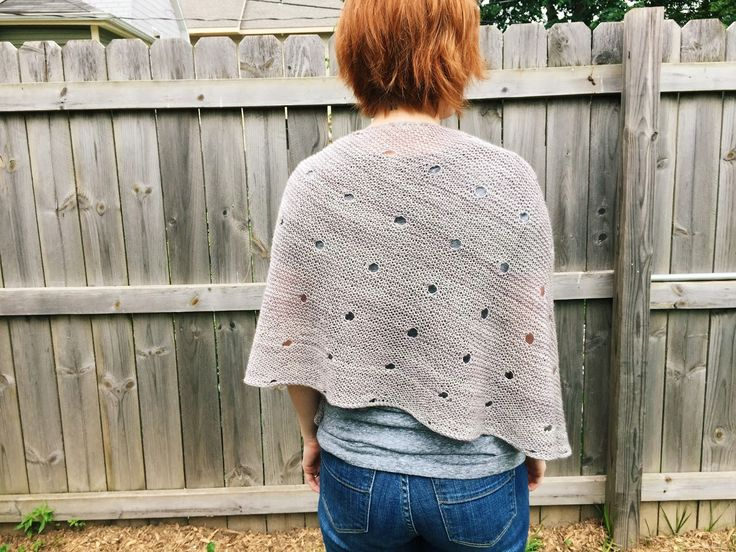 Pattern: Dotted Rays , from Stephen West Yarn: Tosh Merino Light, from Madeline Tosh ( yards) Knitting Time: May 6 2015 - Ju...