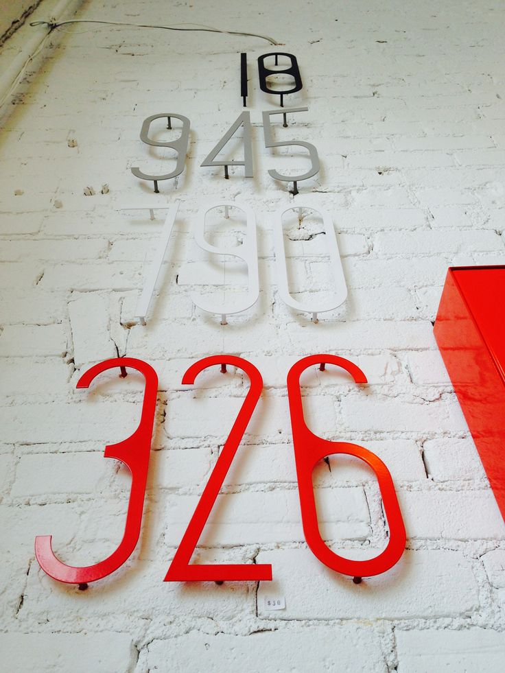 66 best images about interiors shopping in winnipeg on for Modern house numbers canada