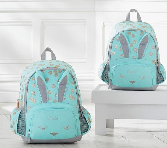 Mackenzie Critter Bunny Backpack | Pottery Barn Kids