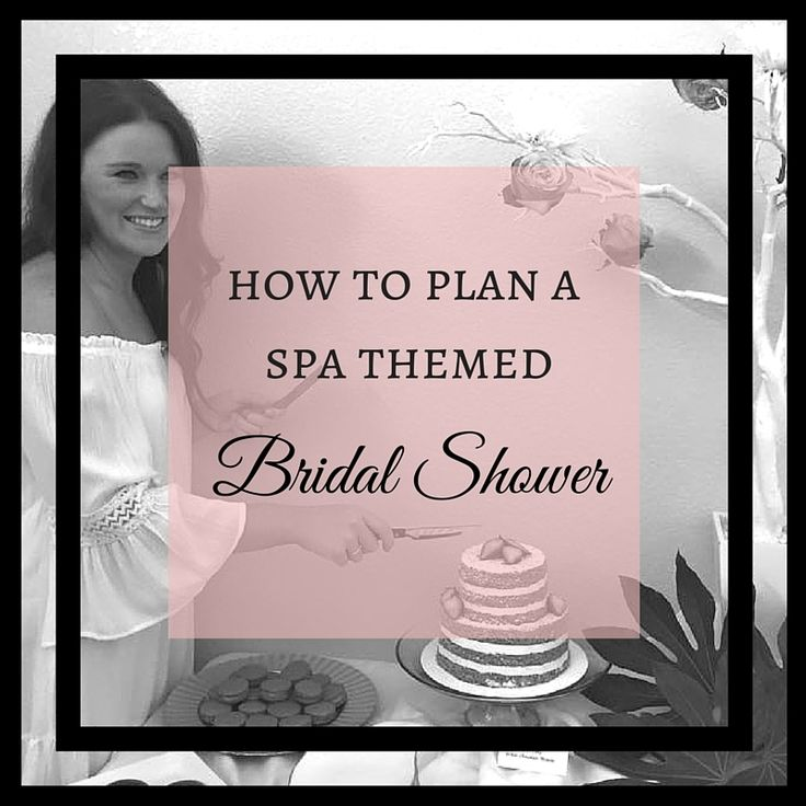 Wanting to throw a spa themed bridal shower? Check out the one we threw for Hayley when she got hitched!