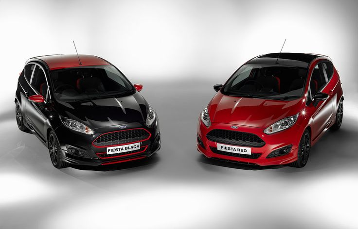 Ford Fiesta Zetec S Red And Black Edition Ford Fiesta Zetec S