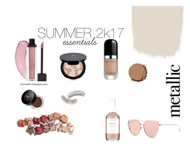 """""""Summer 2k17 essentials"""" by anamariahodinet on Polyvore featuring beauty, Anastasia Beverly Hills, Urban Decay, Herbivore, Marc Jacobs and Beauty Is Life"""