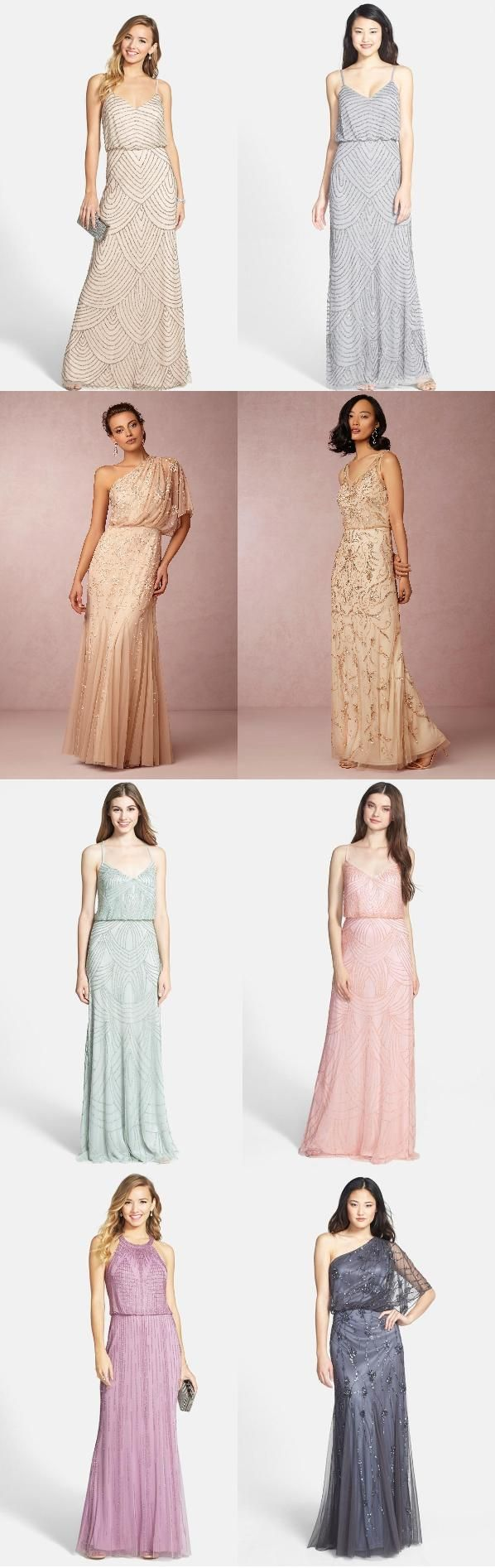Best 25 sparkle bridesmaid dresses ideas on pinterest gold a collection of adrianna papell bridesmaid dresses ombrellifo Images