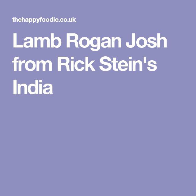 Lamb Rogan Josh from Rick Stein's India