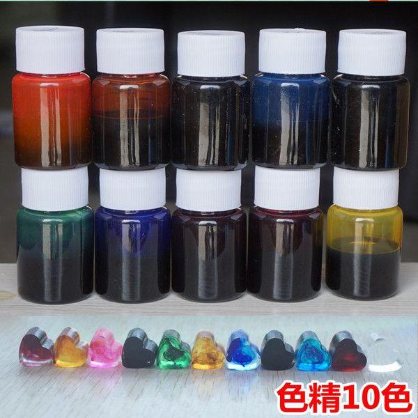 DIY ювелирных аксессуаров кристалл Dijiao Dijiao специальный эффект чернил цвет тонкие кольца браслеты случая телефона 10 г