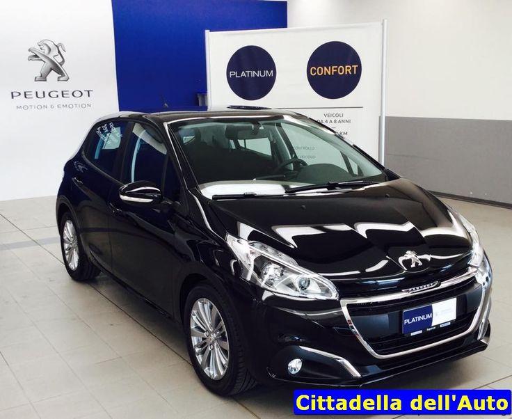 Peugeot 208 –P.Tech 82 Active 5p -  immatricolata 29/04/2016 - km. 0 - colore Nero Perla Metallizzato - Vernice metallizzata/Fendinebbia/Pack Silver. Da noi a soli €. 11.900 oltre a passaggio di proprietà. maurizio.moretti@supercarsrl.eu 333.6456861 Per questa e altre proposte, visitate il nostro sito: www.cittadelladellauto.it