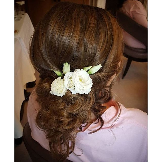 @botiashairandmakeup has this bride's hair goals #onpoint for her special day. #inspire a bride  looking for a fabulous #hairstyle!