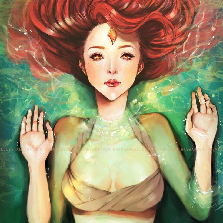 Innocent Redhead Waifs