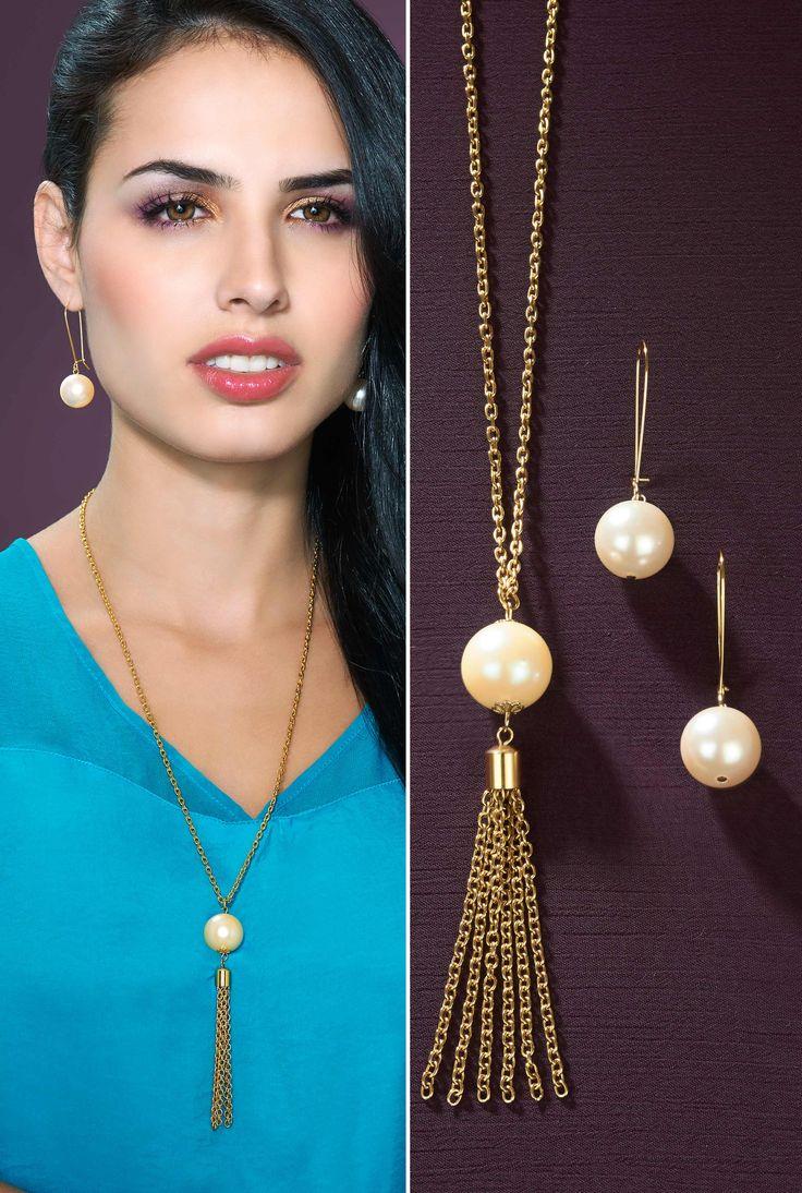 Perlas elegantes Joyería Dupree Colombia
