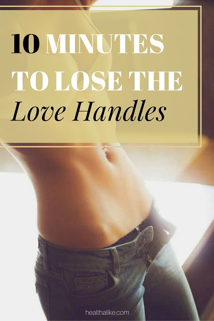 love handles how to get rid o