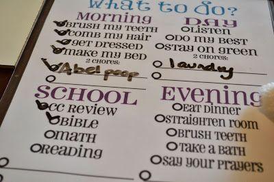 organizing your homeschool day #classicalconversations #homeschool #organization #printables