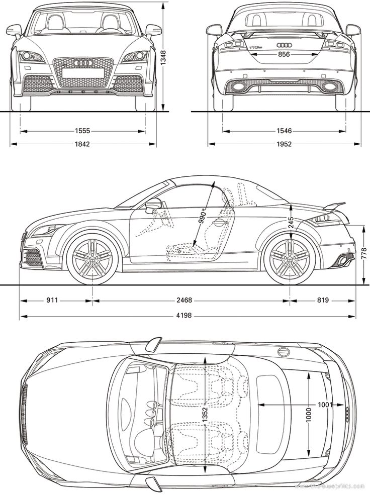 53 best Automobile Blueprints Cross Sections images on Pinterest - best of blueprint drawings of audi r8