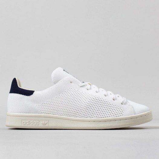 Adidas Originals Stan Smith Primeknit Shoes - White/White