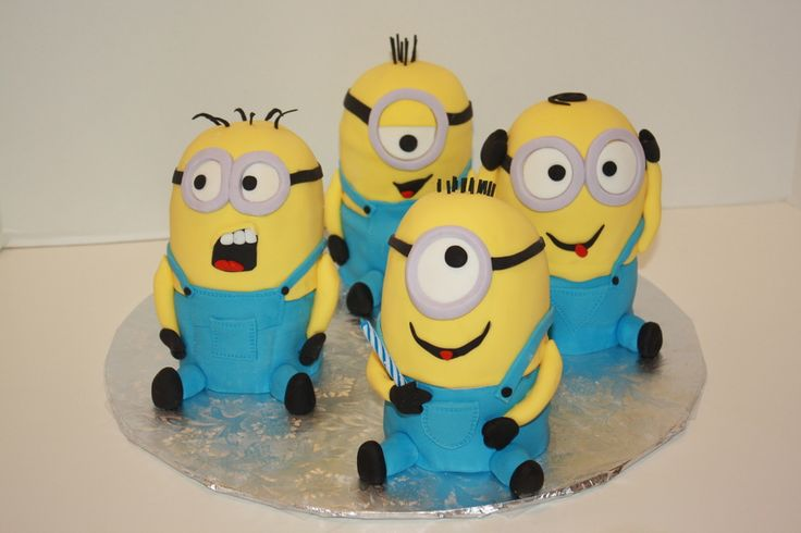 1000 Images About Cakes Minion Cakes On Pinterest