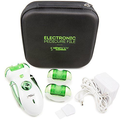 Electric Callus Remover And Shaver  The Best Electric Foot File Two Speeds Rechargeable Hard Skin Removal For Cracked Heels  Feet The Best Home Pedicure Tool For Foot Callous  Corn Treatment -- Learn more by visiting the image link. Note:It is Affiliate Link to Amazon.