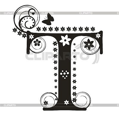 42 best tina images on pinterest initials names and for Letter t decoration