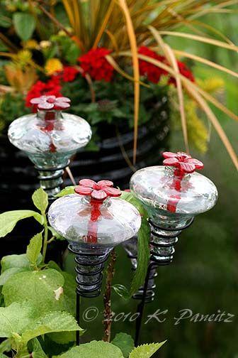 cool hummingbird feeders