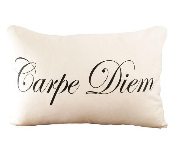Carpe Diem Cushion Cover