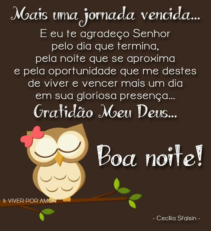 17 Best Images About Frases BOA NOITE On Pinterest