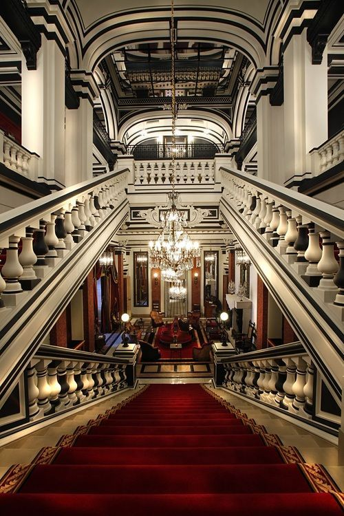 Grand Staircase, St. James Hotel, Paris