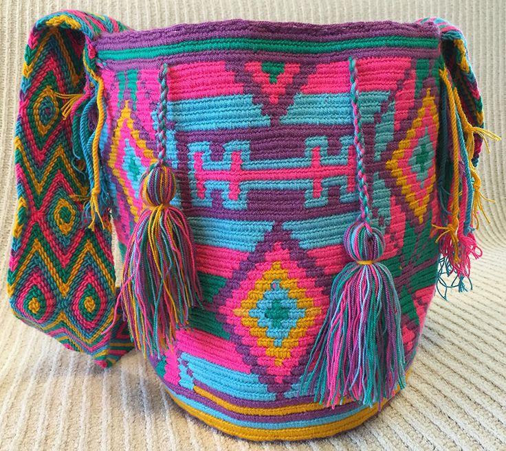 A personal favorite from my Etsy shop https://www.etsy.com/listing/227915731/wayuu-bag-mochila-hand-woven-ship