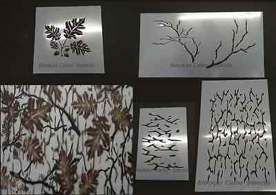 Blind and Tree Stand Accessories 177912: Camo Real Look Backwoods Oak 2 20X12 1 12X12 1 12X8 Stencils Duck Boat -> BUY IT NOW ONLY: $37.24 on eBay!