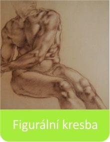 Kurzy figurální kresby podle živého modelu. www.malovanikresleni.cz