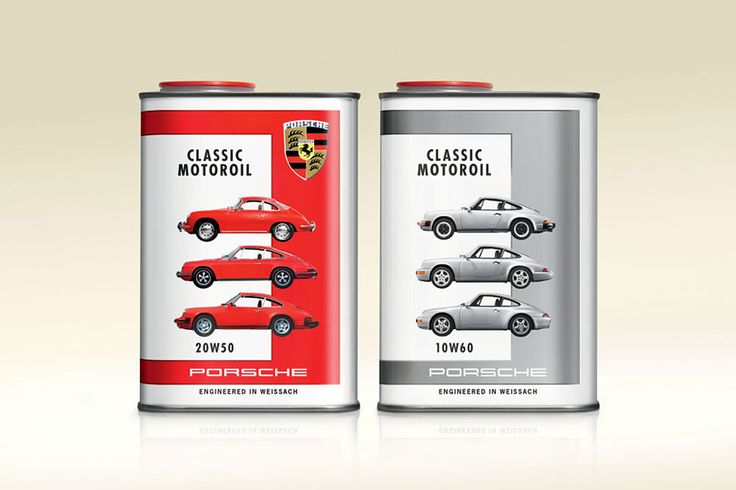 Porsche Release Classic Motor Oils for their Vintage Car Models   Photo