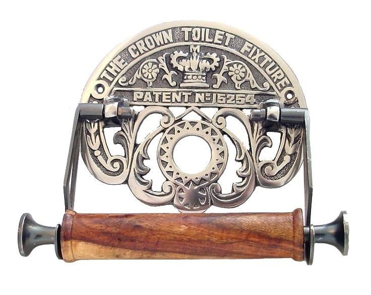 Victorian Toilet Paper Holder Crown