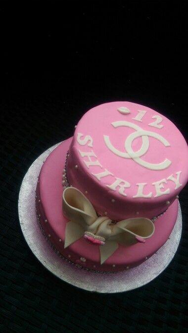 Meisjes taart