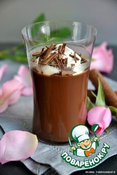 Шоколадный десертный крем - кулинарный рецепт